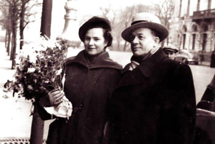 Сергей Лемешев и его пятая жена Вера Кудрявцева | Фото: 24smi.org