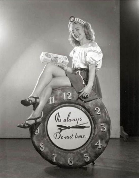 Конкурсы красоты, в которых победительниц награждали титулом «Королева пончиков», проводились вплоть до 1960-х годов.
